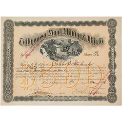 Tallapoosa Land, Mining & Mfg. Co. Stock Certificate  (56930)