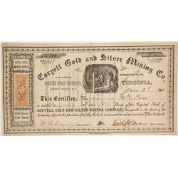 Coryell Gold and Silver Mining Company Stock  (86124)