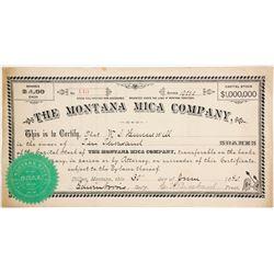Montana Mica Company Stock  (87978)