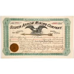 Silver Arrow Mining Company of Helena, Montana Stock  (87974)