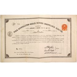 Sterling Gold Mines Bond  (87976)