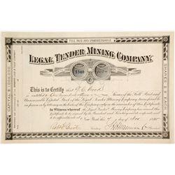 Legal Tender Mining Company Stock  (87968)