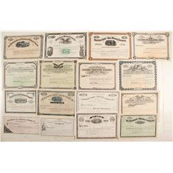 Montana Mining Stock Collection  (87951)