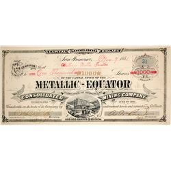 Metallic-Equator Consolidated Mining Co  (86525)
