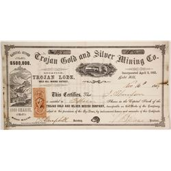 Trojan Gold and Silver Mining Company Stock  (86111)