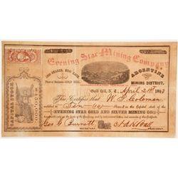Evening Star Mining Company Stock  (86115)