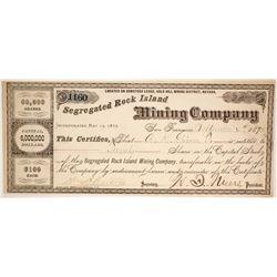 Segregated Rock Island Mining Co.  (86539)