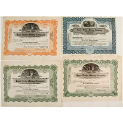 Knox Divide Mining Co. Stock Certificates  (57821)