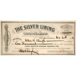 Silver Lining Mining Company  (86502)