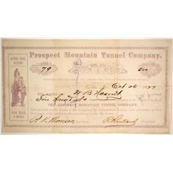 Prospect Mountain Tunnel Co  (86534)