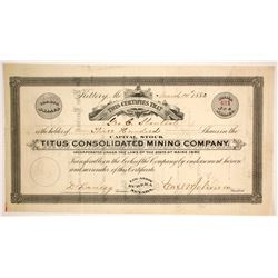 Titus Consolidated Mining Co.  (86514)