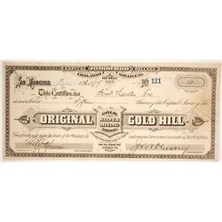 Original Gold  & Silver Mining Company  (86505)