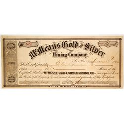 McMeans Gold and Silver Mining Co  (86513)