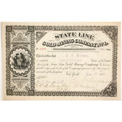 State Line Gold Mining Company No.1  (86506)