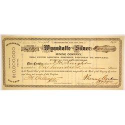 Wyandotte Silver Mining Co  (86546)