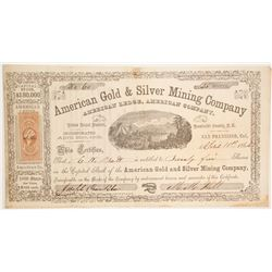 American Gold & Silver Mining Company  (86127)