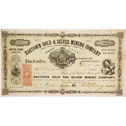 Ragtown Gold & Silver Mining Company Stock  (86128)