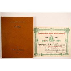 Original Rawhide Mining Co stock  (88403)