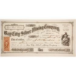 Bay City Silver Mining Company Stock  (86071)