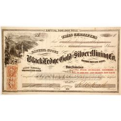Black Ledge Gold and Silver Mining Company Stock  (86067)