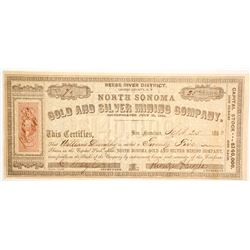 North Sonoma Gold and Silver Mining Company Stock  (86068)