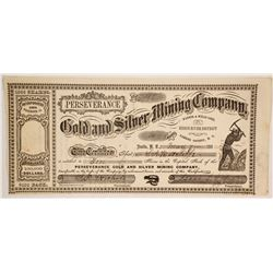 Perseverance Gold and Silver Mining Company Stock  (86075)