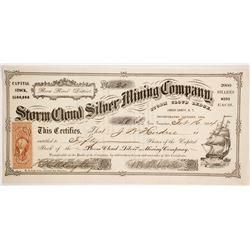 Storm Cloud Silver Mining Company Stock  (86074)