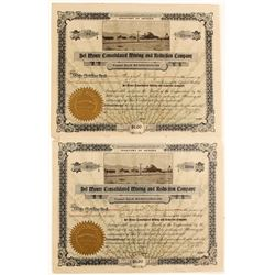 Two Del Monte Consolidated Stocks with Photo Vignette (2 count)   (62239)