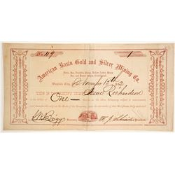American Basin Gold and Silver Company (Early Version)  (86130)