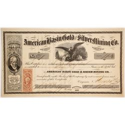 American Basin Gold and Silver Mining Company (Later Version)  (86129)