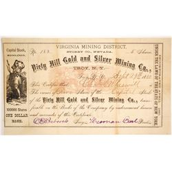 Piety Hill Gold and Silver Mining Co  (86527)