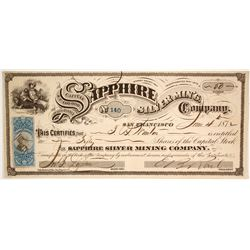 Sapphire Silver Mining Co  (86538)