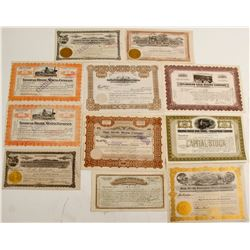 Tonopah Mining Stocks, (11 count)  (57824)