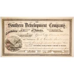 Southern Development Co of Nevada  (86523)