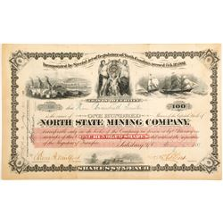 North State Mining Company Stock Certificate  (60267)