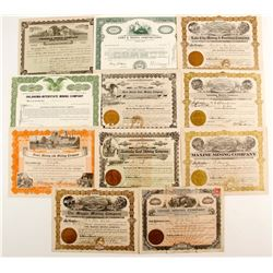 Oklahoma Coal stock certificates  (87231)