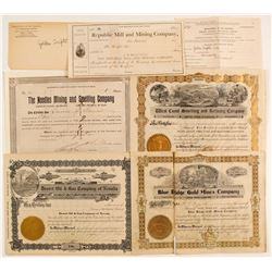 5 Mining certificates / 1 Prod of Metals request  (86556)