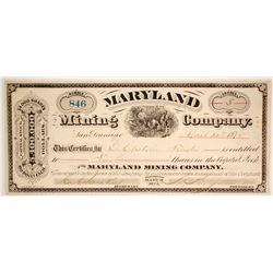Maryland Mining Company  (86512)