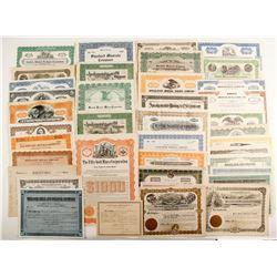 Various US Mining Certificates  (87226)