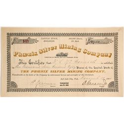 Phoenix Silver Mining Company Stock  (88038)