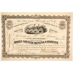 Horn Silver Mining Company Stock  (86750)