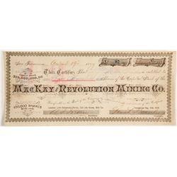 MacKay and Revolution Mining Company Stock  (88060)