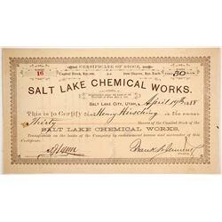 Salt Lake Chemical Works  (88040)