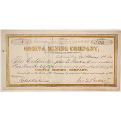 Godiva Mining Company Stock  (86752)