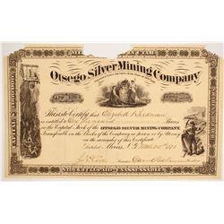 Otsego Silver Mining Company Stock  (86747)