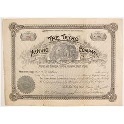 Tetro Mining Company Stock  (88050)