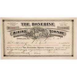 Honerine Mining Company Stock  (86751)