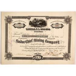 Modoc Chief Mining Company Stock  (88046)
