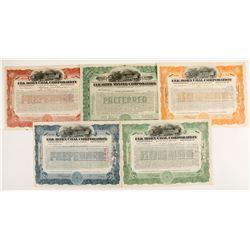 Elk Horn Mining Corp stock certificates  (87255)