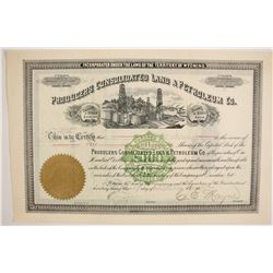 Producers Consolidated Land & Petroleum Company Stock  (87915)